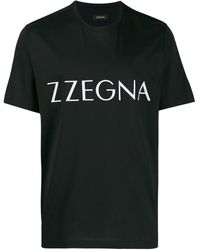 Z Zegna - ロゴ Tシャツ - Lyst
