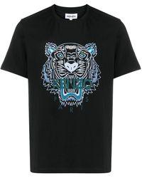KENZO Camiseta Tiger - Negro
