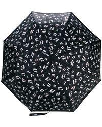 Karl Lagerfeld - Karl Motif Umbrella - Lyst