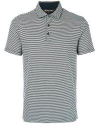Michael Kors - Striped Polo Shirt - Lyst