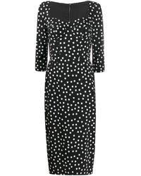 Dolce & Gabbana - Платье В Горох - Lyst
