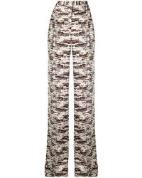 Victoria Beckham - Camouflage-print Trousers - Lyst