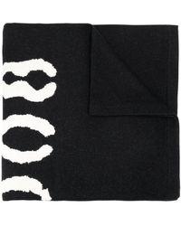 Givenchy ロゴ スカーフ - ブラック