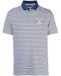 Michael Bastian - Striped Polo Shirt - Lyst