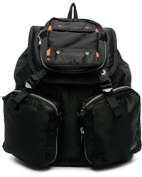 Porter Multi-pocket Backpack - Black