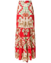 Adriana Degreas | Printed Wide Trousers | Lyst