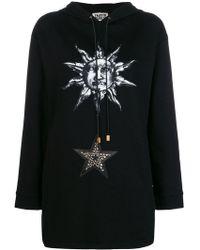 Fausto Puglisi - Cosmic Print Hooded Sweatshirt - Lyst