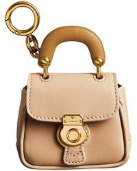 Burberry The Dk88 Charm - Natural