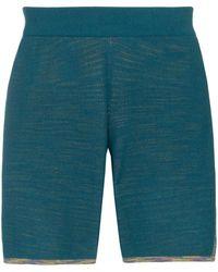 adidas X Missoni Gestreepte Shorts - Groen