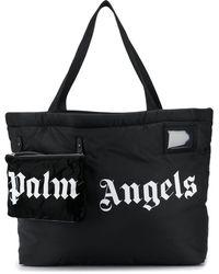 Palm Angels Объемная Сумка-тоут С Логотипом - Черный