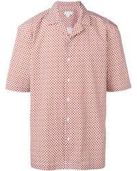 Sunspel フローラル シャツ - ピンク