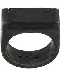 Parts Of 4 Plate Ring Single - Metallic