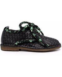Henrik Vibskov Berry Basket Lace-up Shoes - Black