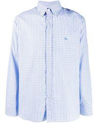 Etro Button-down Overhemd - Blauw