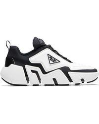 Prada Techno Stretch Sneakers - Wit