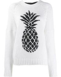 N°21 - Pineapple Knit Sweater - Lyst