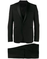 Tagliatore Formal Two-piece Suit - Black