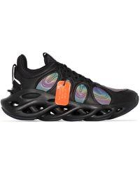 Li-ning Sneakers mit holografischem Effekt - Schwarz