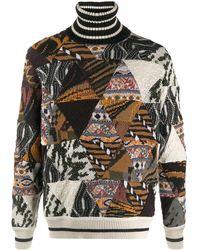 Missoni - パッチワーク セーター - Lyst