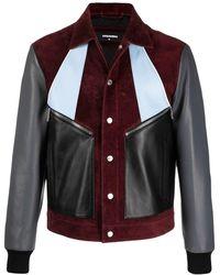 DSquared² Куртка В Стиле Колор-блок - Красный