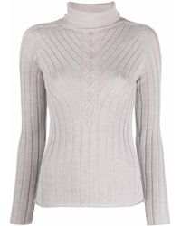 Rossignol Ribbed-knit Sweater - Gray