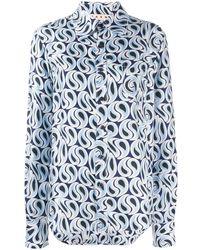 Marni - Camicia プリントシャツ - Lyst