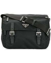 37f30e60ee9a Prada Vela V Cargo Crossbody Bag Nero - Lyst