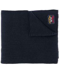 Paul & Shark ロゴパッチ スカーフ - ブルー