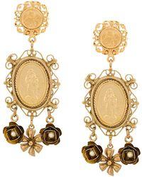 Dolce & Gabbana - Madonna Earrings - Lyst