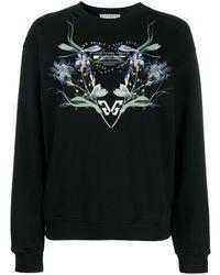 Givenchy グラフィック スウェットシャツ - ブラック