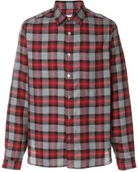 Xacus - Checked Shirt - Lyst