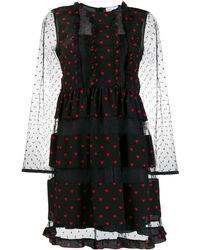 RED Valentino - ハート ドレス - Lyst