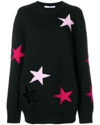 Givenchy - Stars Embroidered Sweater - Lyst