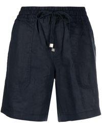 Lauren by Ralph Lauren Brendee Drawstring Shorts - Blue