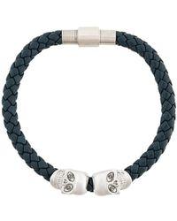 Northskull Skull Bracelet - Blauw