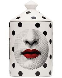 Fornasetti Comme Des Forna Otto Scented Candle (300g) - White
