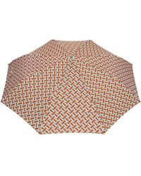 Burberry Regenschirm mit Monogramm-Print - Orange