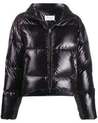 Maison Margiela Куртка-пуховик - Черный