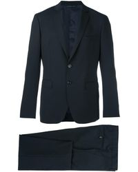 Tonello Fitted Dinner Suit - Black