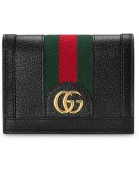 Gucci Ophidia GG Card Case - Black