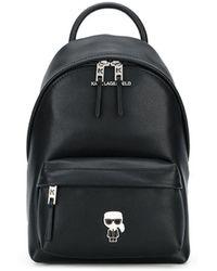 Karl Lagerfeld K/ikonik バックパック - ブラック