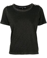 Veronica Beard Slim-fit Carla T-shirt - Gray
