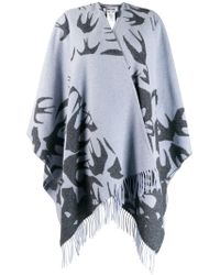 McQ - Large Knitted Scarf - Lyst