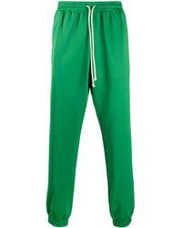 Gucci Спортивные Брюки С Логотипом На Лампасах - Зеленый