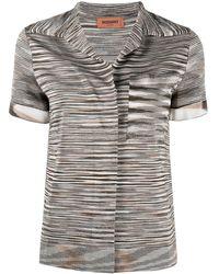 Missoni Полосатая Рубашка С Воротником - Многоцветный