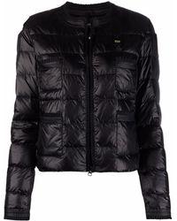 Blauer ロゴ パデッドジャケット - ブラック