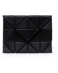 Issey Miyake Prism Panelled Wallet - Black