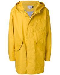 Nanamica - Mid-length Hooded Raincoat - Lyst