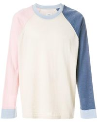 Visvim Jersey de colour block - Multicolor