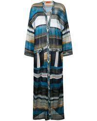 Missoni - Long Striped Cardigan - Lyst